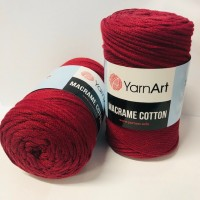 YarnArt Macrame cotton 250gr. 781, bordó